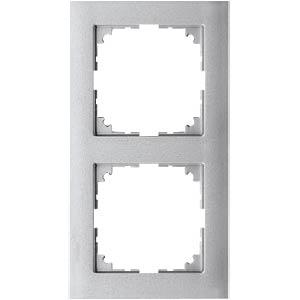 M-PURE-Rahmen - 2-fach, aluminium MERTEN MEG4020-3660