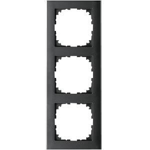 M-PURE frame — 3-gang, anthracite MERTEN MEG4030-3614