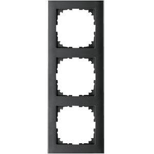 M-PURE-Rahmen - 3-fach, anthrazit MERTEN MEG4030-3614