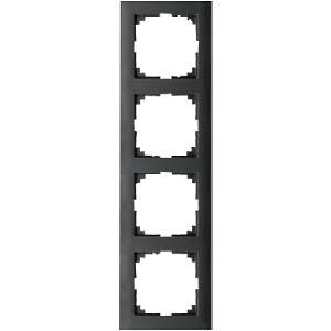M-PURE-Rahmen - 4-fach, anthrazit MERTEN MEG4040-3614