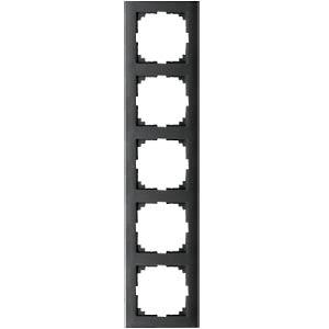M-PURE-Rahmen - 5-fach, anthrazit MERTEN MEG4050-3614