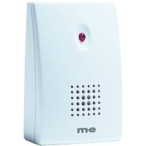Wireless doorbell receiver, battery-operated M-E SC328RX