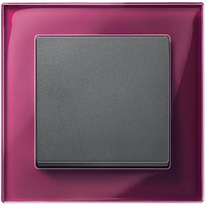 M-PLAN real glass frame, one-way, brilliant white MERTEN 489119