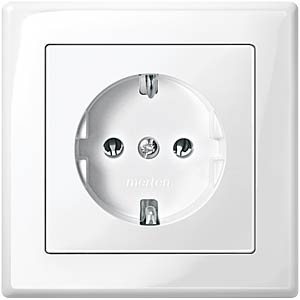 Socket insert, System M, with LED light MERTEN MEG2304-0319