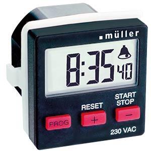 Count-Down-Timer für den Schalttafeleinbau HUGO MÜLLER 21439