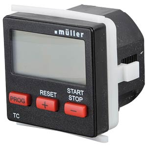 Count-Down-Timer, 99:59:99, 230V AC/DC HUGO MÜLLER 21439