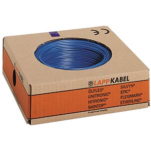 H05V-K — 1 x 0.75 mm², 100 m, dark blue LAPPKABEL 4510142/100