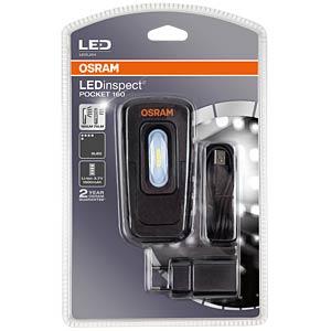 LED-Arbeitsleuchte LEDinspect POCKET 160, 160 lm, Akku, schwarz OSRAM B01N3UOZU0