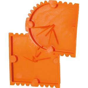 Putzdeckel, für UP-Gerätedosen, halbrund F-TRONIC 7390055