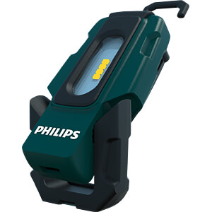 LED-Arbeitsleuchte EcoPro20, 220 lm, Akku, 1800 mAh, schwarz PHILIPS RC320B1