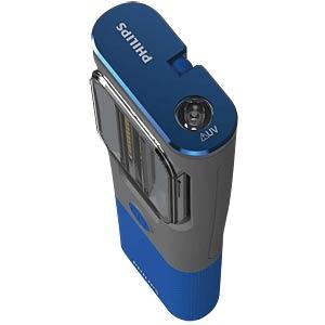 LED-Arbeitsleuchte RCH31 UV, 350 lm, Akku, grau / blau PHILIPS LPL34UVX1