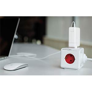 Allocacoc Powercube, ReWirable, USB ALLOCACOC 1811/DERU3P