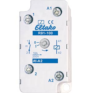 Switching relay - 1 NO contact, 230V ELTAKO R91-100-230V
