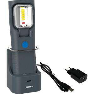 LED-Arbeitsleuchte RCH21s, 250 lm, Akku, 2100 mAh, schwarz PHILIPS LPL47X1