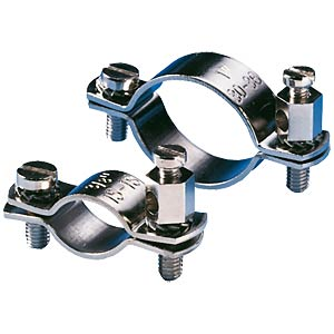Earthing pipe clamp, 15 - 16 mm-diameter F-TRONIC ERS 3/8