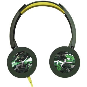 Foldable On-Ear Street headphones, green PANASONIC RPHXS400EG