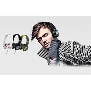 Faltbarer On-Ear Street Kopfhörer, grün PANASONIC RPHXS400EG