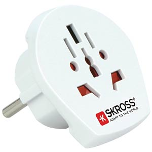 Travel Adapter World PRO USB Earthed SKROSS 1302530