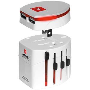 SKROSS World Adapter EVO USB SKROSS