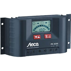 Solar charge controller, 30 A with LCD display STECA 756499