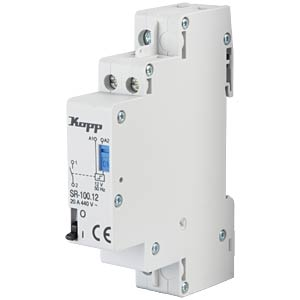 Current-surge relay, 20 A, 12 V AC, 1 x NO KOPP 761831017