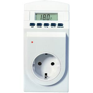 Timer outlet with temperature sensor TFA DOSTMANN 37.3000