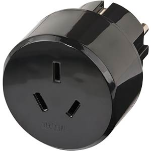 TRA CN AUS - Travel Adapter Schutzkontakt/China, Australien
