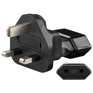 Travel Adapter GB Stecker / Euro Buchse FREI