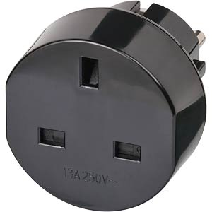Travel adapter for earthed contact/GB BRENNENSTUHL 1508530