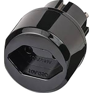 Travel adapter for CH Switzerland/earthed contact BRENNENSTUHL 1508480