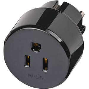 Travel Adapter Schutzkontaktstecker/USA BRENNENSTUHL 1508520