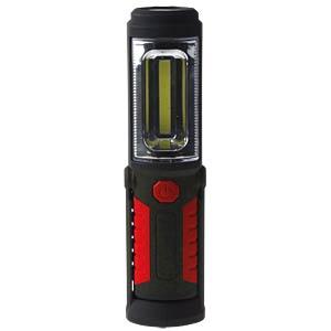 Arbeitsleuchte 3 Watt COB + 5 LED, Batterie TELESOUND 44-61134