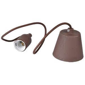 Light bulb socket E27 - brown V-TAC 3475