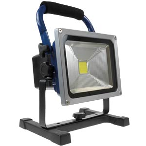LED battery-powered floodlight, 20 W LED, 1600 lm, dimmable XCELL 140966