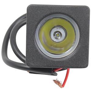 LED-Scheinwerfer, 10 W, 700 lm, 12 - 24 V, schwarz FREI