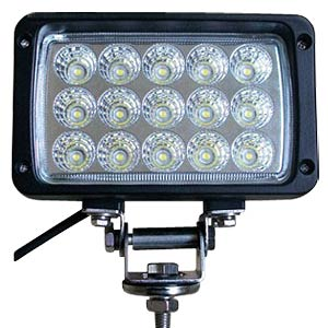 LED work light, 45 W 12-24 V DC FREI