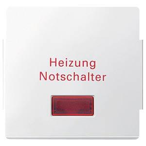Aquadesign Wippe, Heizungs-Notschalter, pw MERTEN 343019