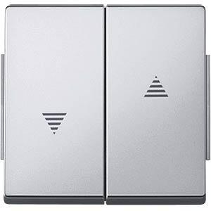 Aquadesign Wippe, für Rollladen, aluminium MERTEN 343460