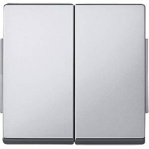 Aquadesign Wippe, für Serienschalter, aluminium MERTEN 343560