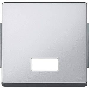 Aquadesign Wippe, Symbolfenster, aluminium MERTEN 343860