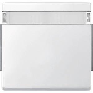 Aquadesign Wippe, mit Schriftfeld, polarweiß MERTEN 343919