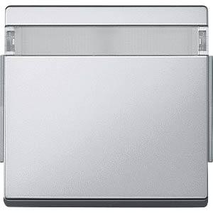 Aquadesign Wippe, mit Schriftfeld, aluminium MERTEN 343960