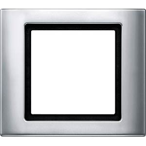 Aquadesign, Rahmen, 1-fach, aluminium MERTEN 400160