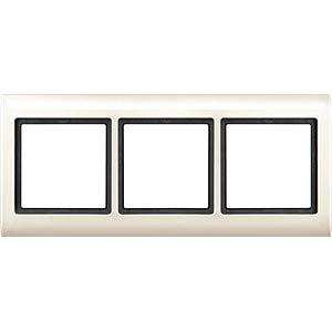 Aquadesign, Rahmen, 3-fach, weiß MERTEN 400344