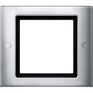 Aquadesign, Rahmen, 1-fach, verschraubbar, aluminium MERTEN 401160