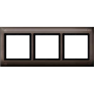 Aquadesign-Rahmen - 3-fach, verschraubbar, brasil MERTEN 401315