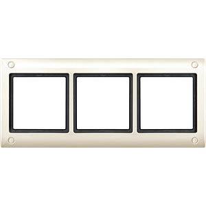 Aquadesign-Rahmen - 3-fach, verschraubbar, ws MERTEN 401344