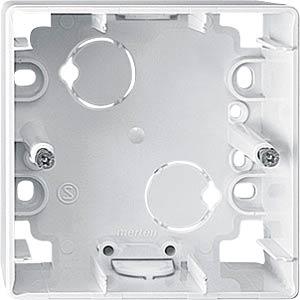 EL ME 519119 - Aufputz-Gehäuse - für 1-M, 1-fach, polarweiß