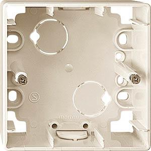 EL ME 519144 - Aufputz-Gehäuse - für 1-M, 1-fach, weiß
