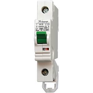 Leitungsschutzschalter, Char. C, 2 A, 1 polig KOPP 720201002